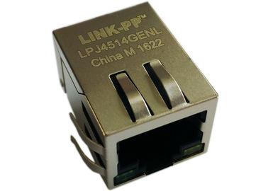 LPJ4514GENL 1x Rj45 Power Over Ethernet, R/A 90 Degree 10/100Mbps IEEE802.3af